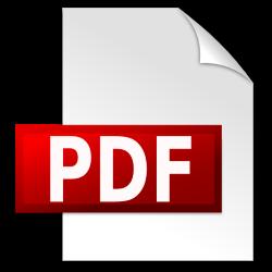 Иконка документа pdf